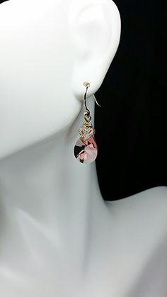Golden Rose Earrings by KSJeweler on Etsy, $29.99