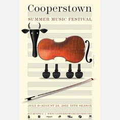 Milton Glaser | Cooperstown Music Festival 2012