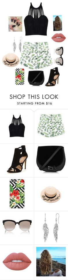 """""""Under the sun"""" by meganreighannstinnett ❤ liked on Polyvore featuring Posh Girl, Chicnova Fashion, Eugenia Kim, Christian Dior and Lime Crime"""