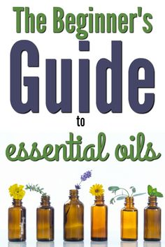 Getting started with essential oils can be intimidating, but it doesn't need to be!  Check out this step by step introduction to getting started for beginners. via @essentialfamily
