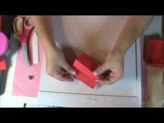 EASEL CARD WITH FOUR DRAWER TUTORIAL - YouTube