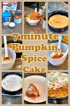 All in my Pampered Chef ROCKCROK box of spice cake mis, 2 tsp PC cinnamon Plus and a can 15 oz pumpkins . mix and top with a can of white or cream cheese frosting Pampered Chef Desserts, Pampered Chef Party, Baker Recipes, Dessert Recipes, Cooking Recipes, Soup Recipes, Yummy Recipes, Pumpkin Cake Recipes, Pumpkin Spice Cake