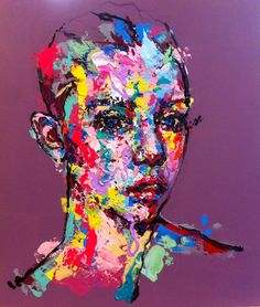 an ordinary person 2, acrylic on canvas, 53.0cm x 45.5, 2013