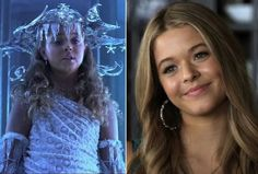Sasha Pieterse young - Shark boy and Lava girl playing Alison deliarentis on pll plays ice princes on shark boy and lava girl