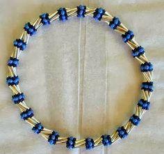 Pattern bijoux: Herringbone Twist Bracelet