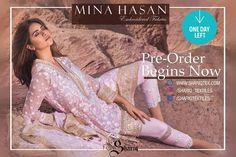Mina Hasan Embroidered Fabrics Winter Collection 2016-17