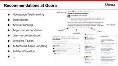 Quora recommendation