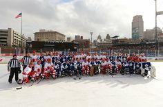 The Winter Classic Alumni Game: Hockey Rules