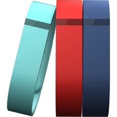 Fitbit Flex Band 3-Pack: Sport Large 3 Color Accessory Sport Bands, One Size