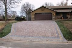 Ideas to improve your home's curb appeal. (Hmm. A heated driveway to melt the snow...)