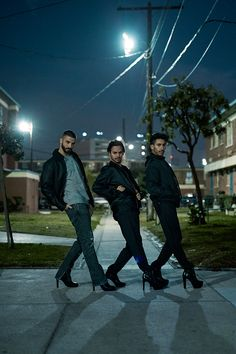 Meet the eye-popping French trio whose speciality is dancing in high heels. | H&M World Recycle Week