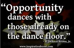 I am dancing.  So excited for the opportunity/new chapter about to begin in my life....