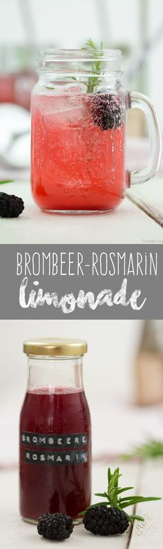 Blackberry and rosemary syrup and a delicious lemonade , Summer Drink Recipes, Summer Desserts, Summer Drinks, Delicious Desserts, Dessert Recipes, Yummy Food, Blackberry Freezer Jam, Margarita Cake, Mothers Day Desserts