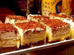 Prajitura EUGENIA Romanian Desserts, Romanian Food, Romanian Recipes, Food Cakes, Cupcake Cakes, Cupcakes, Sweets Recipes, Cookie Recipes, Sweet Cakes
