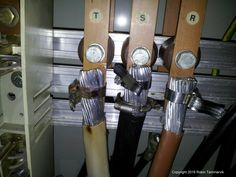Not exactly the intended purpose. Electrical Safety, Electrical Engineering, Electrician Humor, Safety Fail, Construction Fails, Job Fails, Job Humor, Engineering Humor, Electrical Installation