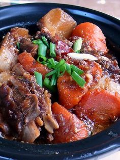 Korean Beef Stew, Kalbi Jjim (갈비찜) **Make necessary omissions/substitutions to suit primal/paleo