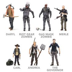 Walking Dead Action Figures