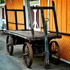 Freight Wagon by durand clark, via Flickr