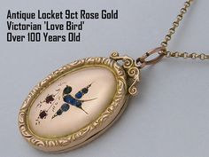 Antique rose gold locket necklaces are the perfect gift for any special occasion... Gift for Brides from Groom, Anniversary Gift for Wife,
