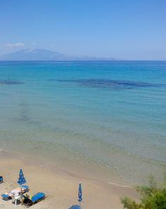 xehoriati beach with views to Peloponnese and Kefalonia - Top 20 Things to do on Zante holidays Greece Holidays, Purple Tips, Greek Islands, Sunny Days, Things To Do, Beach, Places, Water, Top