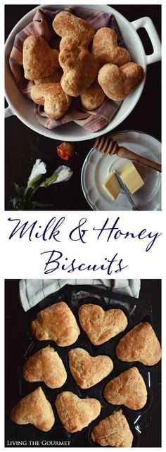"These buttery milk & honey biscuits are a perfect accompaniment to your favorite winter dish and so easy to make in a pinch. ""If you were born with the weakness to fall you were born with the strength to rise."" -Rupi Kaur There is a book called Milk and Honey and I'm not sure if..."