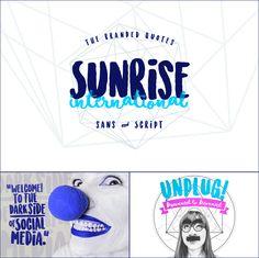 Sunrise International Font | dafont.com