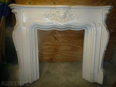 Unique Fire Place Surround - Unique Fire Place Surround, Plaster cast. Louis Classique style we th...