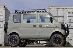 Every Suzuki Every, Mini 4x4, Kei Car, Monster Car, 4x4 Van, Automobile, Mini Trucks, Jeep Truck, Cute Cars