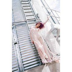 Photo/ @haniaexchange   Model/ @martyna.roztoczynska   Clothes/ @saleichuk_a   #fashion #fashionstudent #fashionphoto #asia #mood #cherryblossoms #cottonflower #underwear