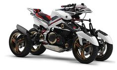 Yamaha Concept - I normally don't like quad bikes, but look at it! LOOK AT IT!