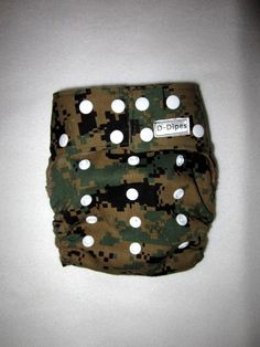 Marine Corps Woodland Cloth Diaper: My husband wants this for our future baby...lol.