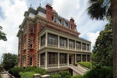 Stay at the beautiful Wentworth Mansion. Located in downtown Charleston, this orante 21-room mansion turned hotel offers gracious hospitality, a luxury spa, a seasonally inspired restaurant and beautiful rooms (nearly all of which has its own fireplace).