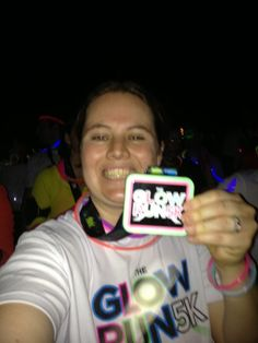 My first 5K: The Glow Run in downtown St. Pete