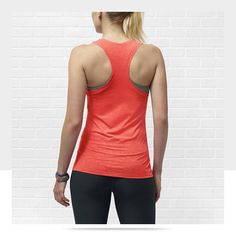 LOVE this top for working out in: Nike Dri-FIT Touch Breeze Women's Running Tank Top