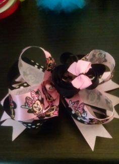 Pink and black minnie $4.00