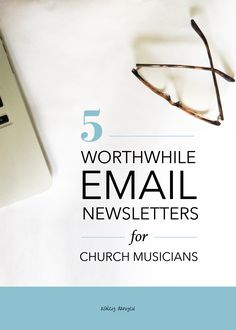 5 Worthwhile Email Newsletters for Church Musicians - links to several helpful, inspirational, or creative arts-focused email newsletters Free Teaching Resources, Teaching Tools, Music Ministry, Library Organization, Church Music, Email Newsletters, Music Library, Teaching Music, Daily Devotional