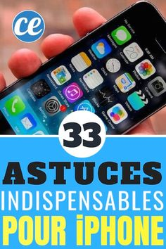 - Smartphones - 33 Astuces Indispensables Pour iPhone Que Personne Ne Connaît. 33 Essential iPhone Tips That No One Knows. Iphone 5s, Iphone Codes, Sell Iphone, Iphone Ringtone, Iphone Deals, Android Tutorials, Android Hacks, Multimedia, Application Telephone