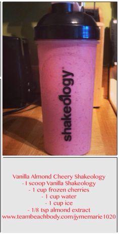 Shakeology Recipe - Dear Beachbody, please make vegan vanilla! Protein Shakes, Shakeology Shakes, Beachbody Shakeology, Vanilla Shakeology, Herbalife Shake, Healthy Shakes, 310 Shake Recipes, Protein Shake Recipes, Smoothie Recipes