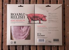 Head to the Farm with Roam & Relish Meat Packaging — The Dieline - Branding & Packaging Design