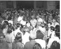It was 70 years ago that the American, British, Canadian and other Allied families, almost were liberated from their internment at the University of Santo Tomas after over three years … University Of Santo Tomas, Manila Philippines, World War Ii, Wwii, Nostalgia, Couple Photos, American, Vintage, Santos