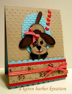 CC501- HOW MUCH IS THAT DOGGIE IN THE WINDOW?? by Karen B Barber - Cards and Paper Crafts at Splitcoaststampers