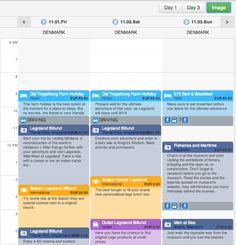 Travel Plan Sharing Service's time table