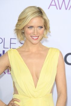 Brittany Snow at the 39th Annual People's Choice Awards at Nokia Theater L.A. Live on January 9, 2013 in Los Angeles #makeup #celebrity #beauty