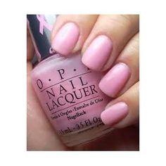 Pink nails! OPI, Ouma