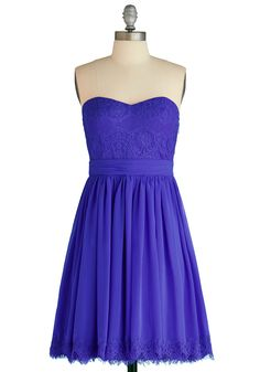 Chic My Name Dress in Iris, #ModCloth