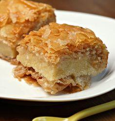 Galaktoboureko ou gâteaux grecs à la semoule - Recettes de cuisine Ôdélices                                                                                                                                                      Plus