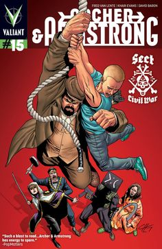 Archer and Armstrong #15