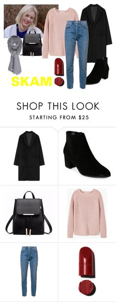 """Noora"" by cinseep ❤ liked on Polyvore featuring Franco Sarto, MANGO, 10 Crosby Derek Lam, Care By Me and skam"