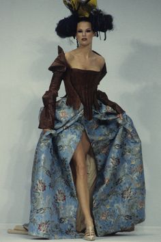 John Galliano Spring 1993 Ready-to-Wear Fashion Show - Meghan Douglas