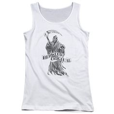 """Checkout our #LicensedGear products FREE SHIPPING + 10% OFF Coupon Code """"Official"""" Sons Of Anarchy / Redwood Original - Juniors Tank Top - Sons Of Anarchy / Redwood Original - Juniors Tank Top - Price: $29.99. Buy now at https://officiallylicensedgear.com/sons-of-anarchy-redwood-original-juniors-tank-top"""